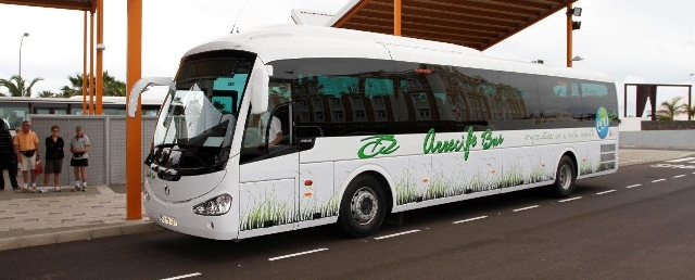 Buses en Lanzarote Aeropuerto