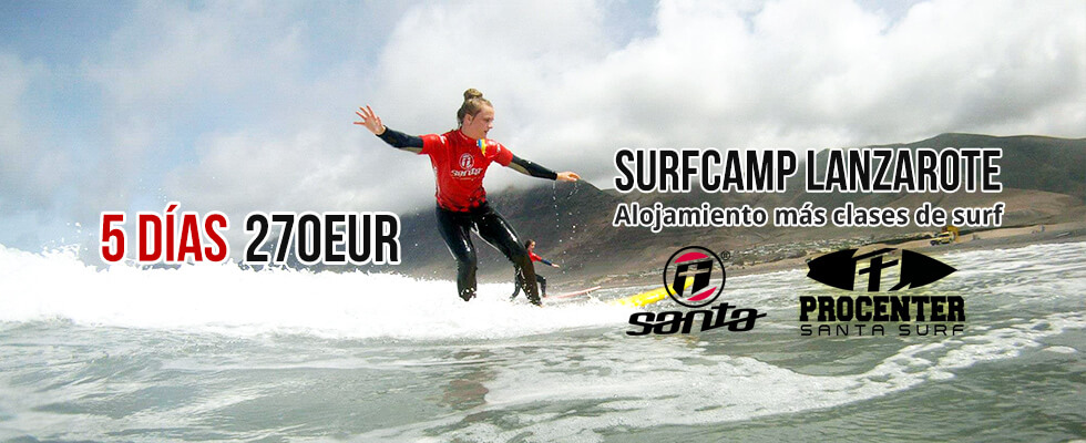 Surf Camp Lanzarote 5 days