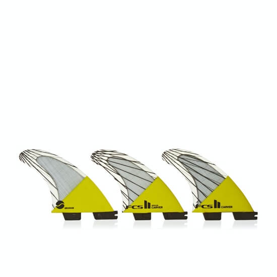 FCS II Carver Performance Core Carbon Thruster - Yellow 3