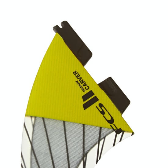 FCS II Carver Performance Core Carbon Thruster - Yellow 4