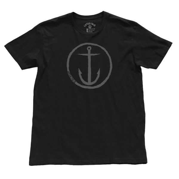 Anchor boys tee Captain fins 2