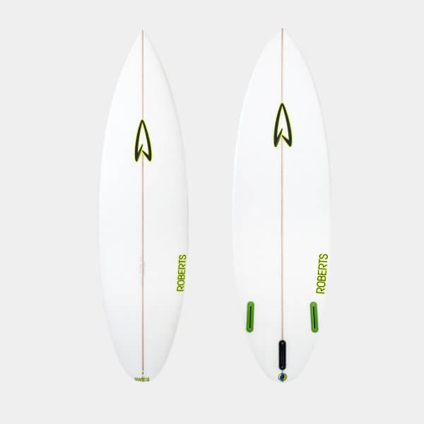 5'10 SURFBOARD /poly / 2