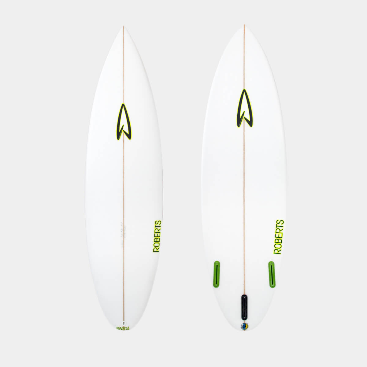 5'10 SURFBOARD /poly / 1