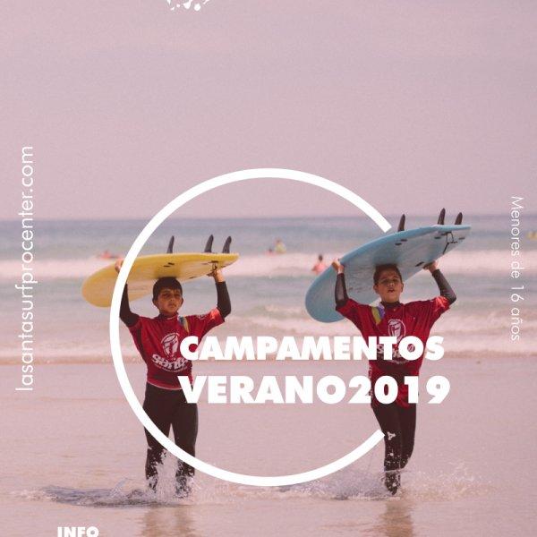 Campamentos SURF Lanzarote 2019 Niños y Niñas