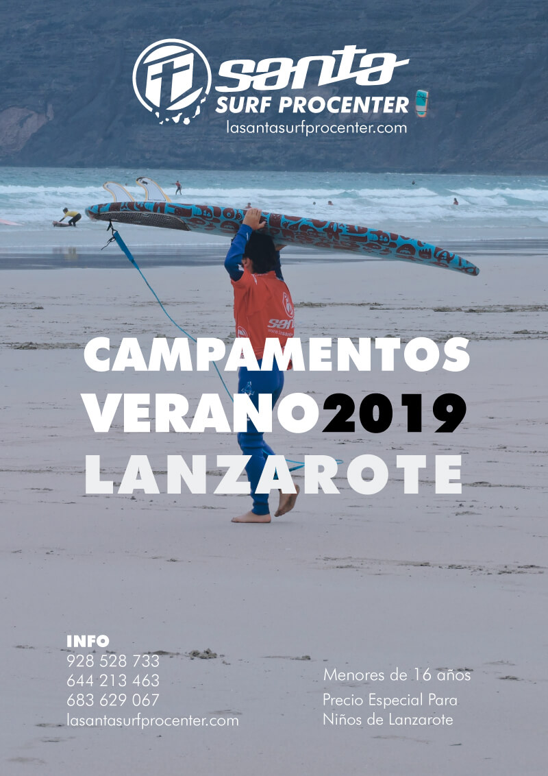 Surf Camp Lanzarote 2019 Kids