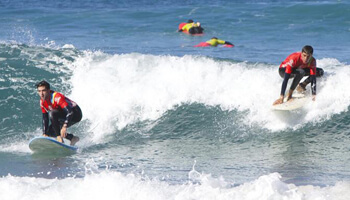 Surf Course Lanzarote Famara Canary Islands