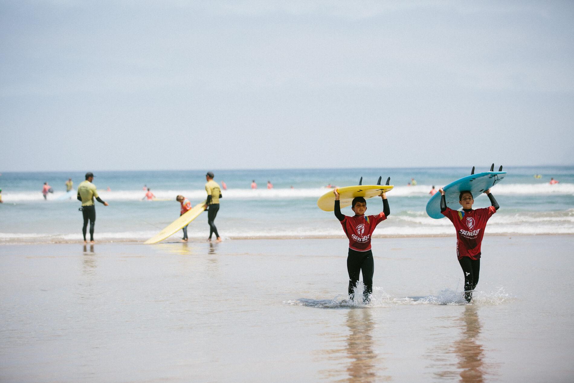 Surf Camp de verano para niños de Lanzarote