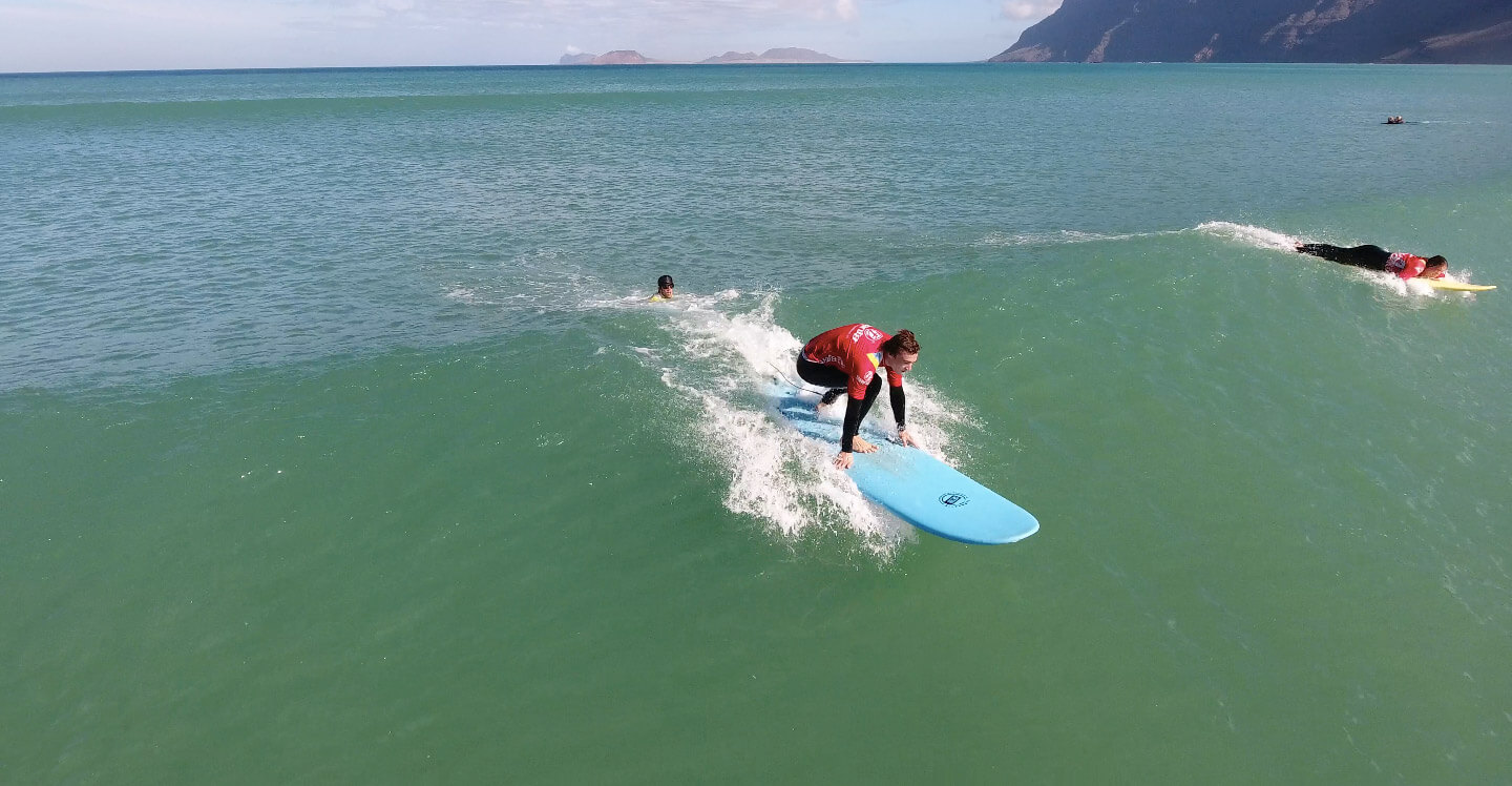 Surf School in Lanzarote - Canarias