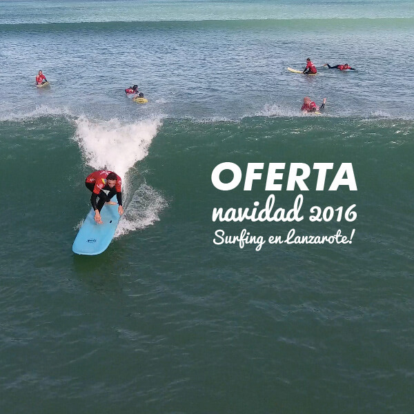 Surf and Christmas in Lanzarote, Offer for you! 1