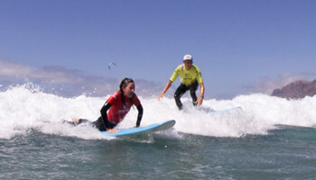 Surf Lessons in Famara Lanzarote