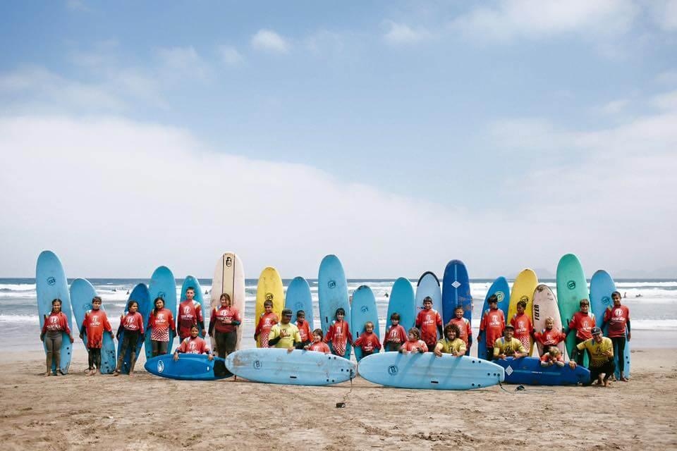 Verano intenso de Surf en Lanzarote 1