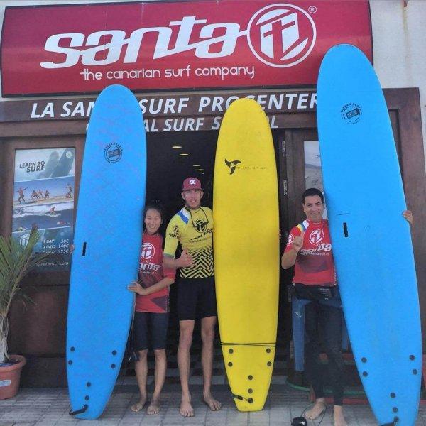 Surf School Lanzarote Canarias